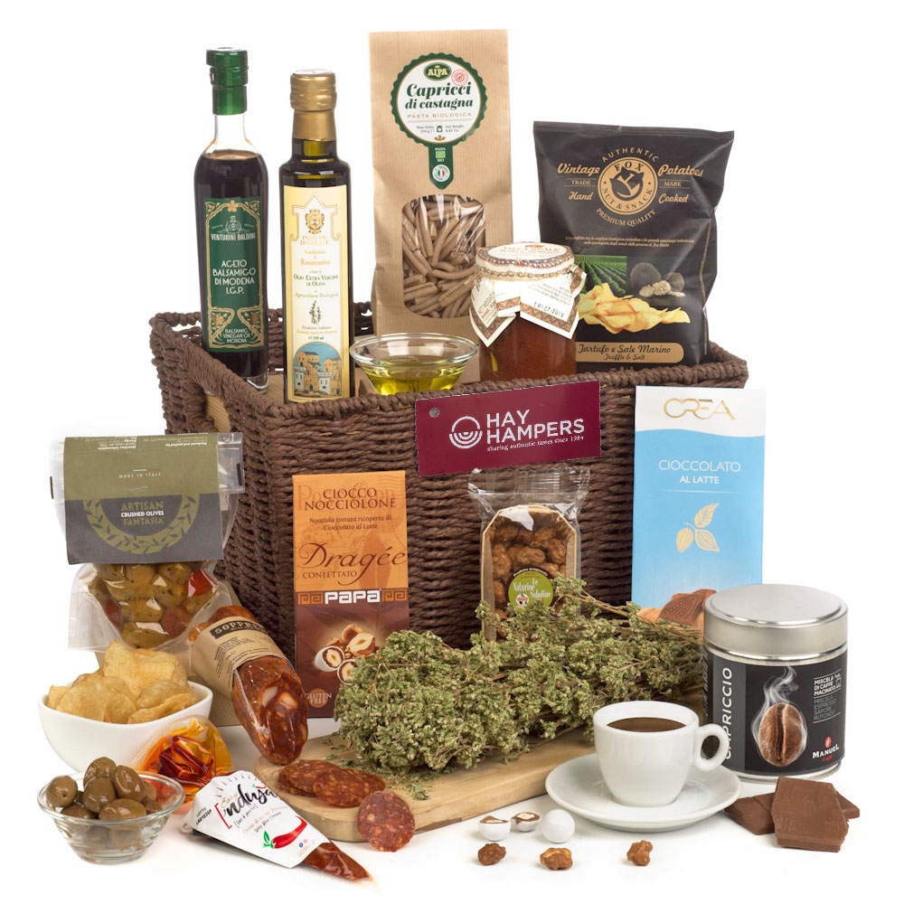 Send her an Italian Hamper for Mother's Day