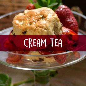Treat them with a cream tea hamper gift!