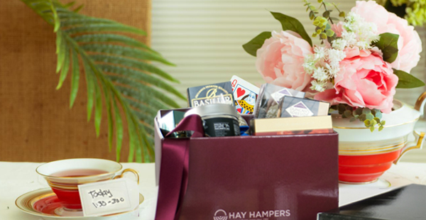 Send tasty foodie treats to your zoom meetings participants with Hay Hampers