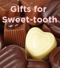 Gifts for those with sweet tooth, christmas hampers ideas