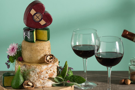 Red Wine Hampers for her