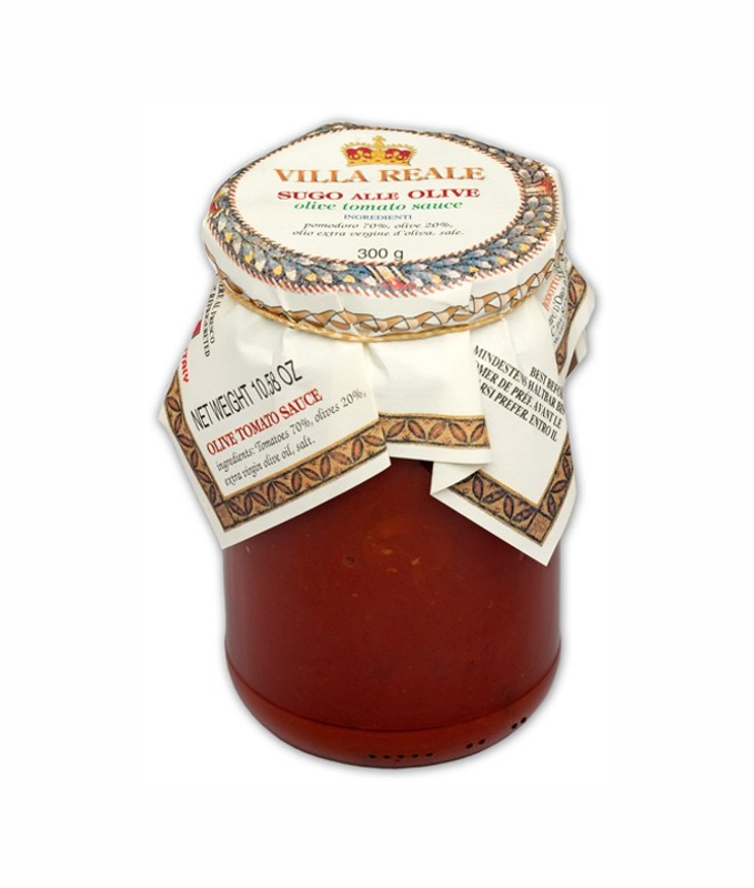 Tomato Sauce with Olives, Villa Reale 300g