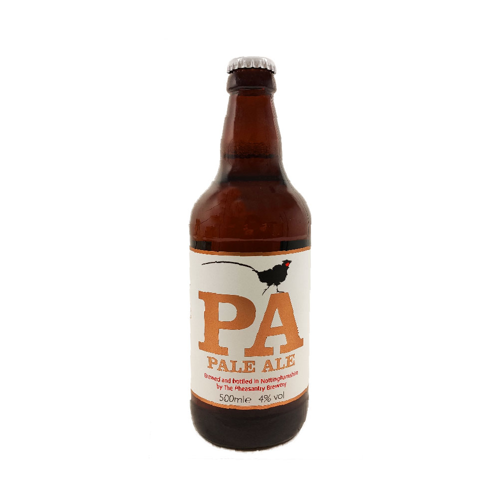 Pale Ale 4.0%, Pheasantry Brewery 500ml