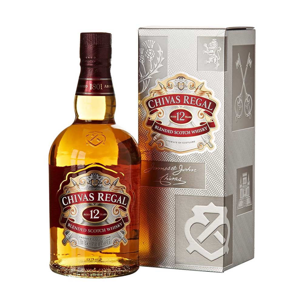 Whisky, 12-year-old, Chivas Regal 35cl
