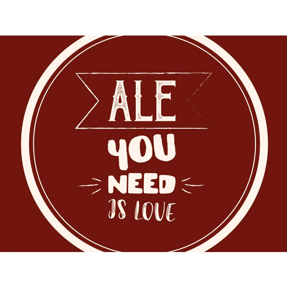 Label - Ale you Need is Love