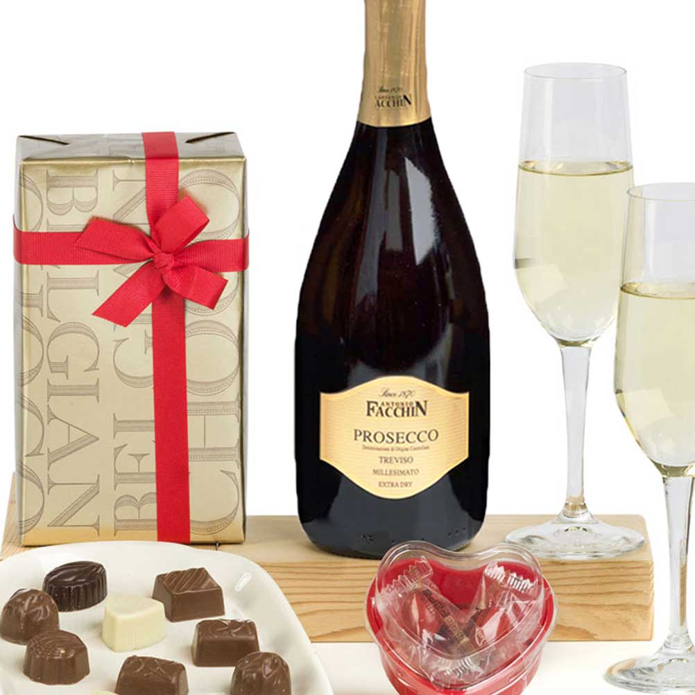 ultimate prosecco and chocolates