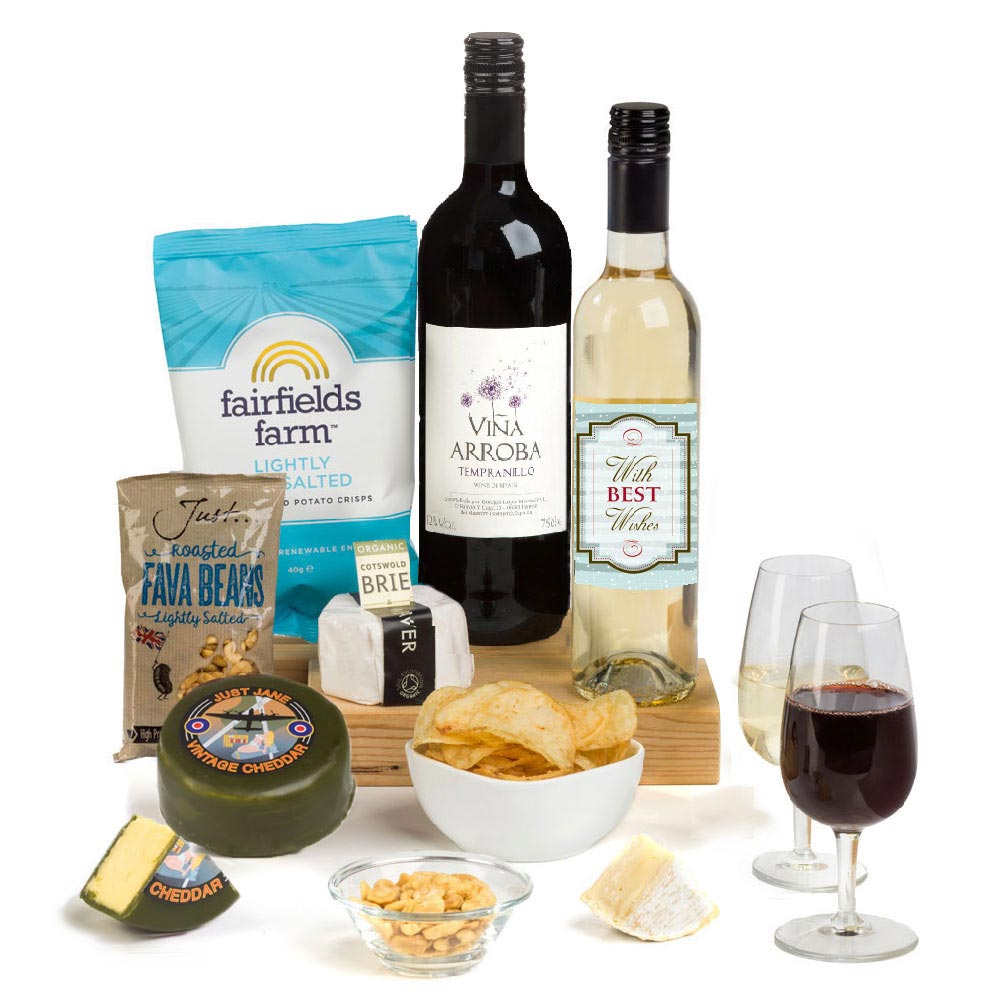 Two Good - Wine and Cheese Gift