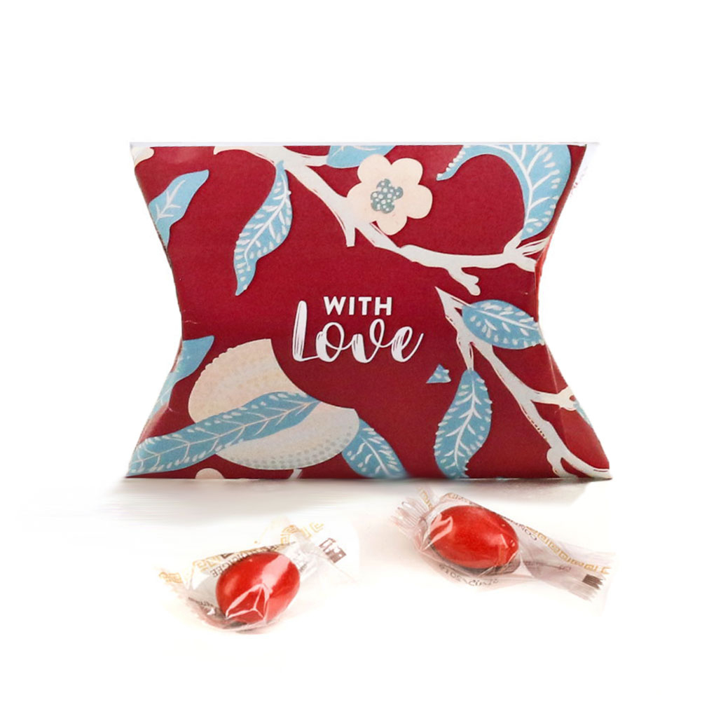 Sugared Almonds in love box, Papa x 6