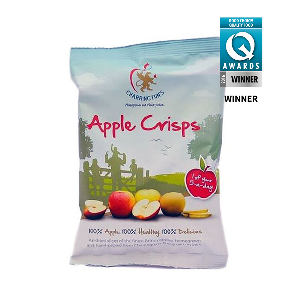 Apple Crisps, Charrington Farm 20g