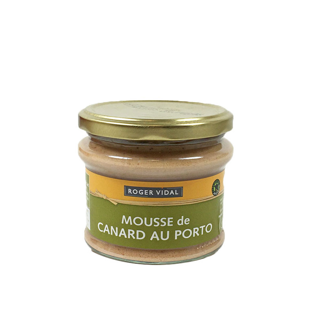 Smooth Duck Pate with Port, Roger Vidal 180g