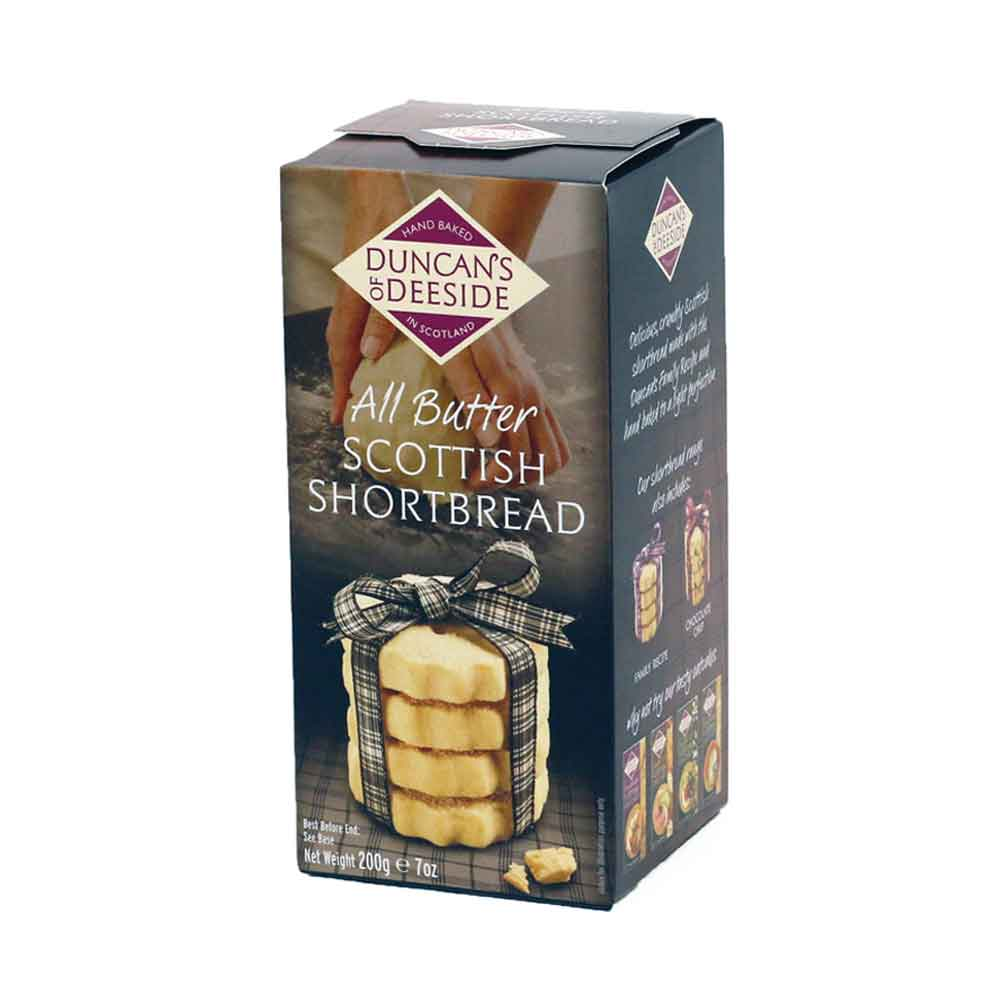 All Butter Shortbread, Duncans of Deeside 200g