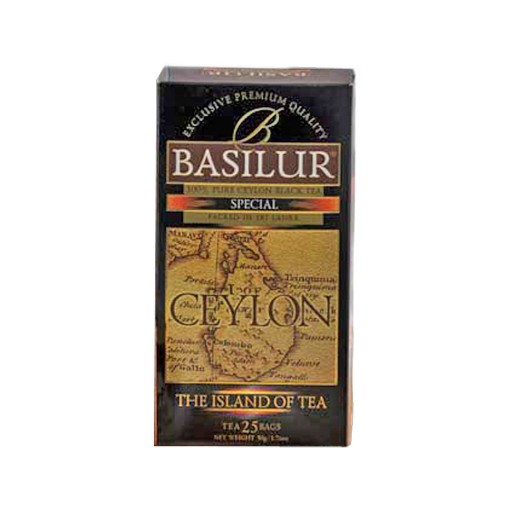 Black Ceylon Tea, Basilur 25 teabags