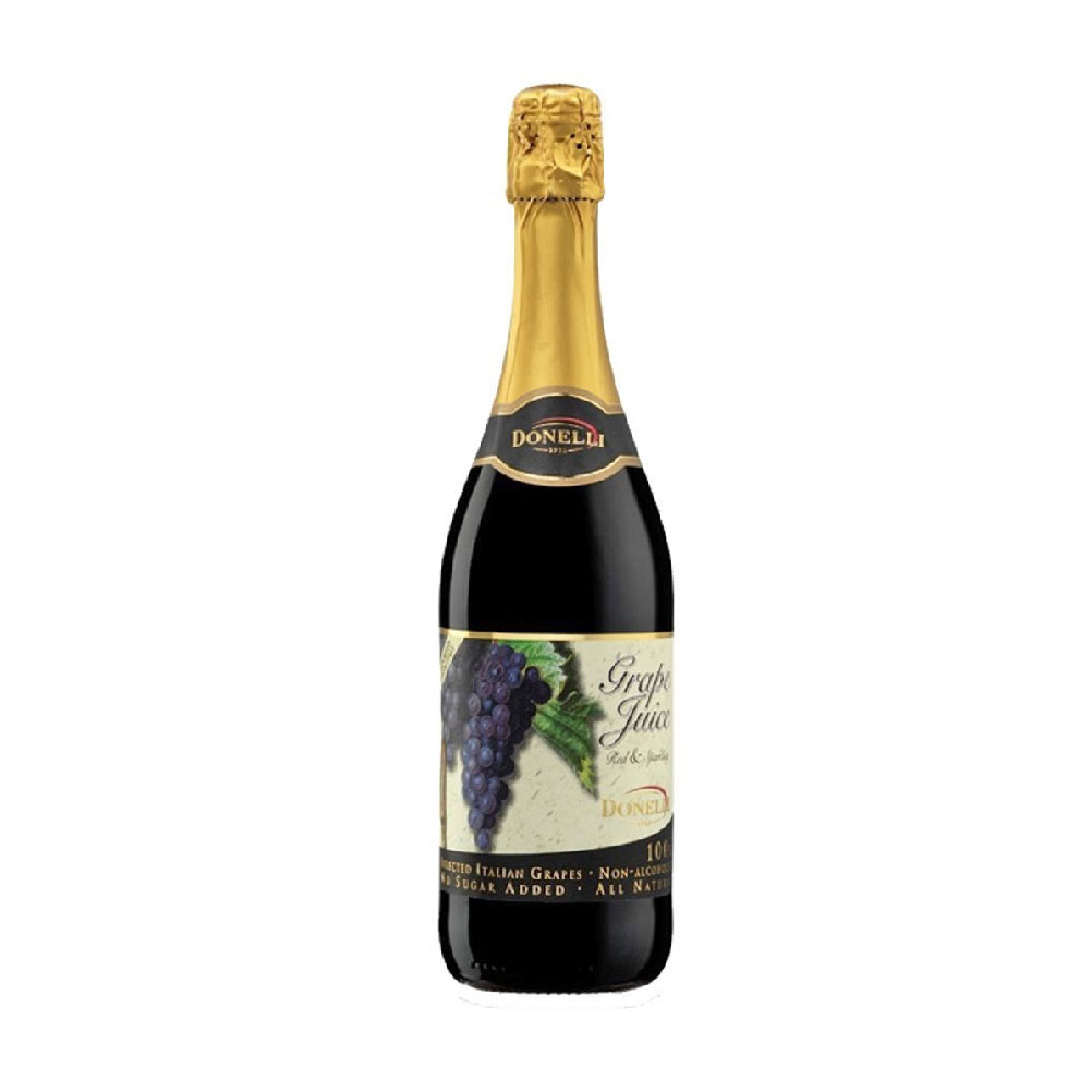 Red Sparkling Grape Juice, Donelli 75cl